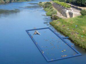 Primera piscina ecológica