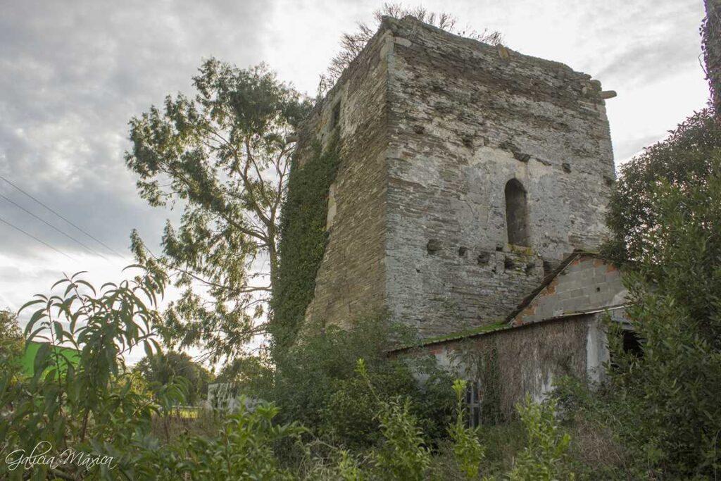 Torre de Sobrada. Uralita y cemento