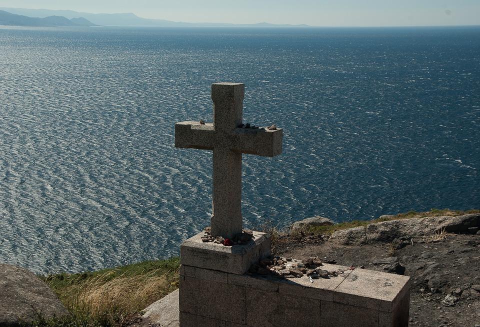 Cruz en Finisterre