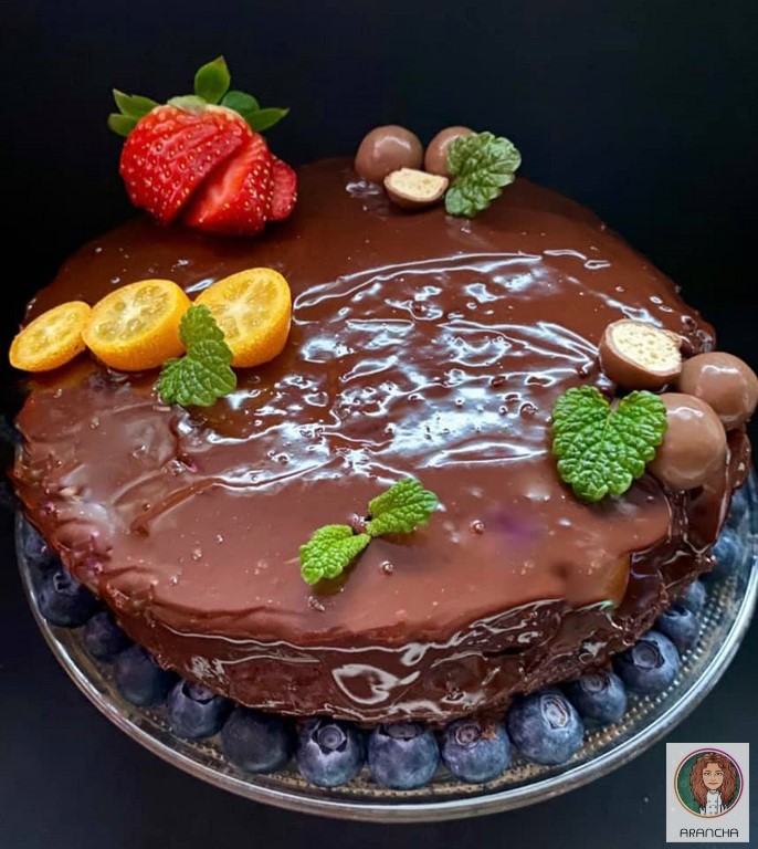 "Tarta de chocolate ""tipo Sacher"""