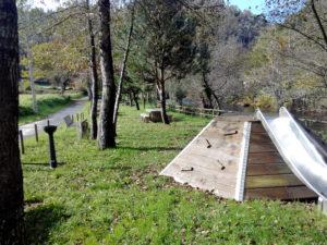 Rocódromo en Ponte Aranga