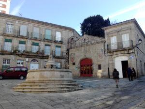 Capilla de San Cosme en Ourense, que alberga el belén de Baltar