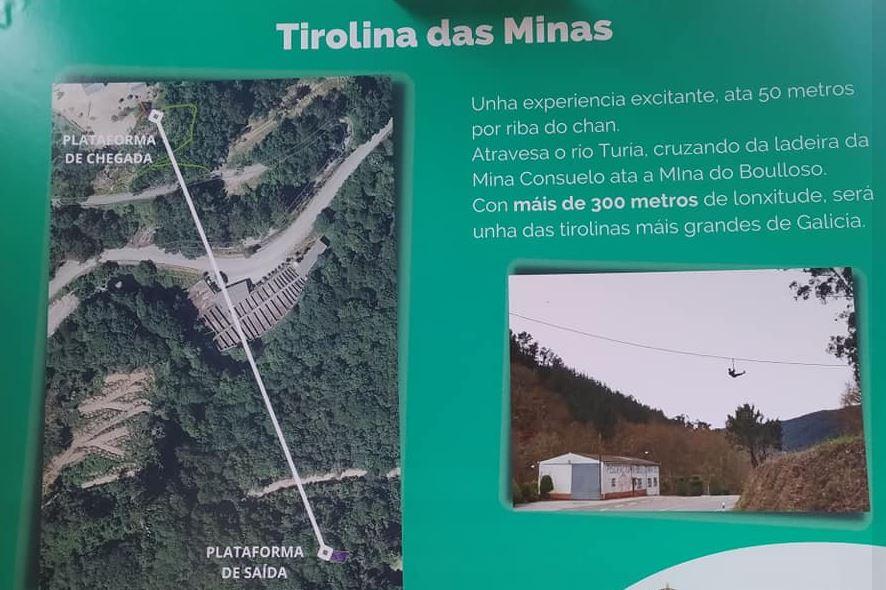 tirolina más grande de Galicia