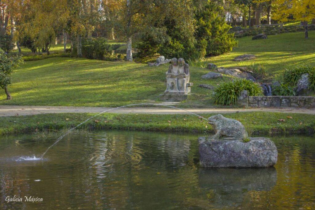 Lago del Parque de Castrelos