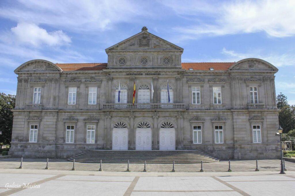 Palacio de la Diputación de Pontevedra