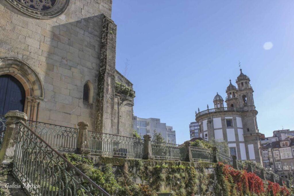 La iglesia de la Peregrina