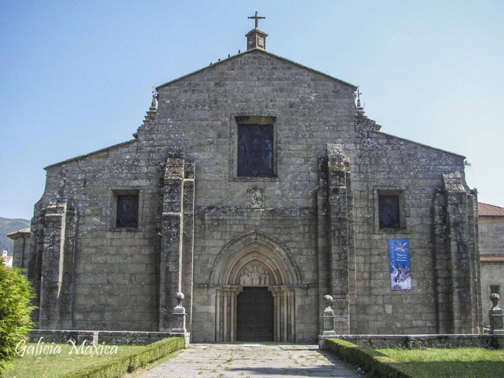 Fachada de la iglesia de Iria Flavia