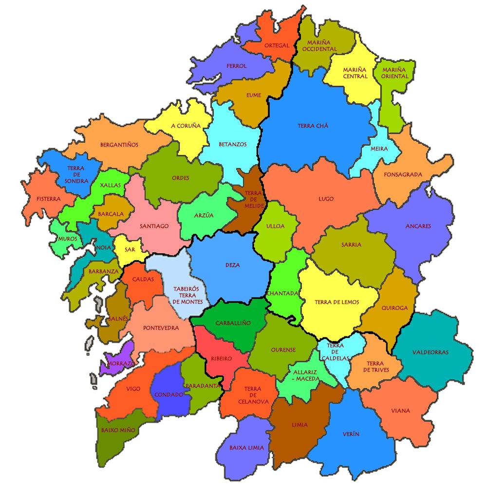 Mapa comarcas