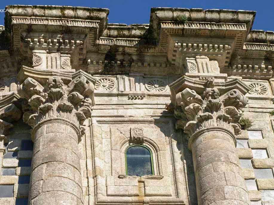Columnas fachada