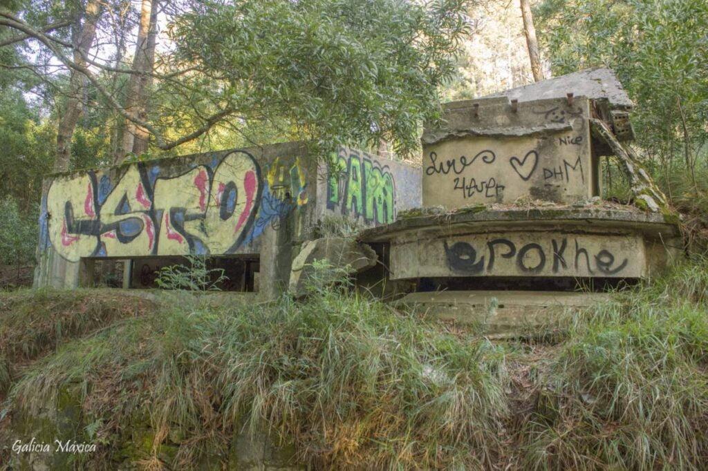 Ruinas edificio telemetría