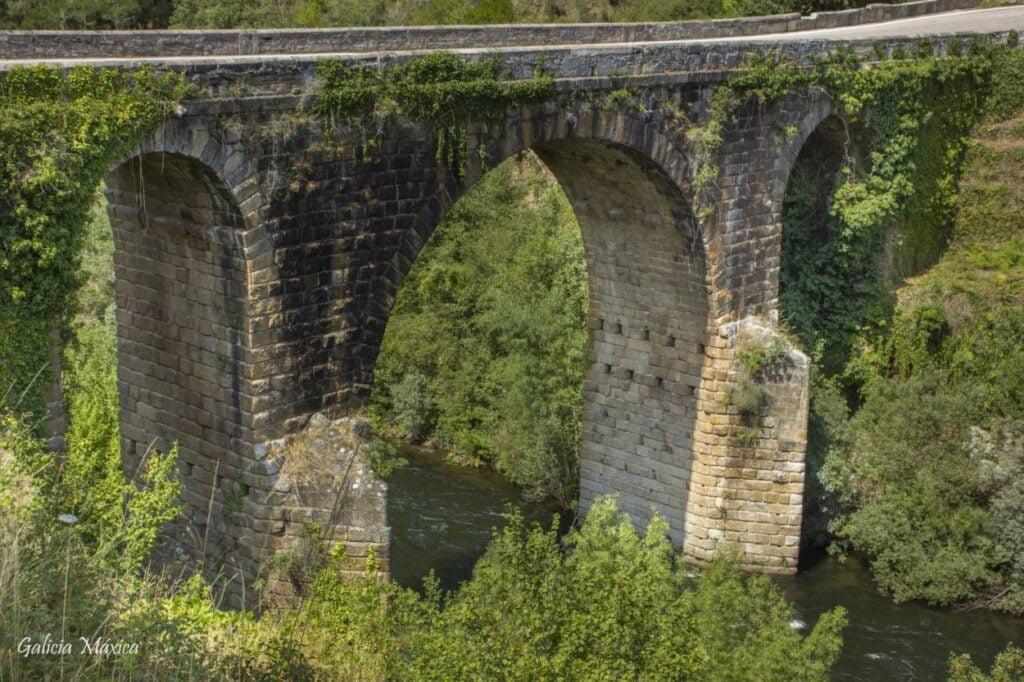 Puente romano del Bibei