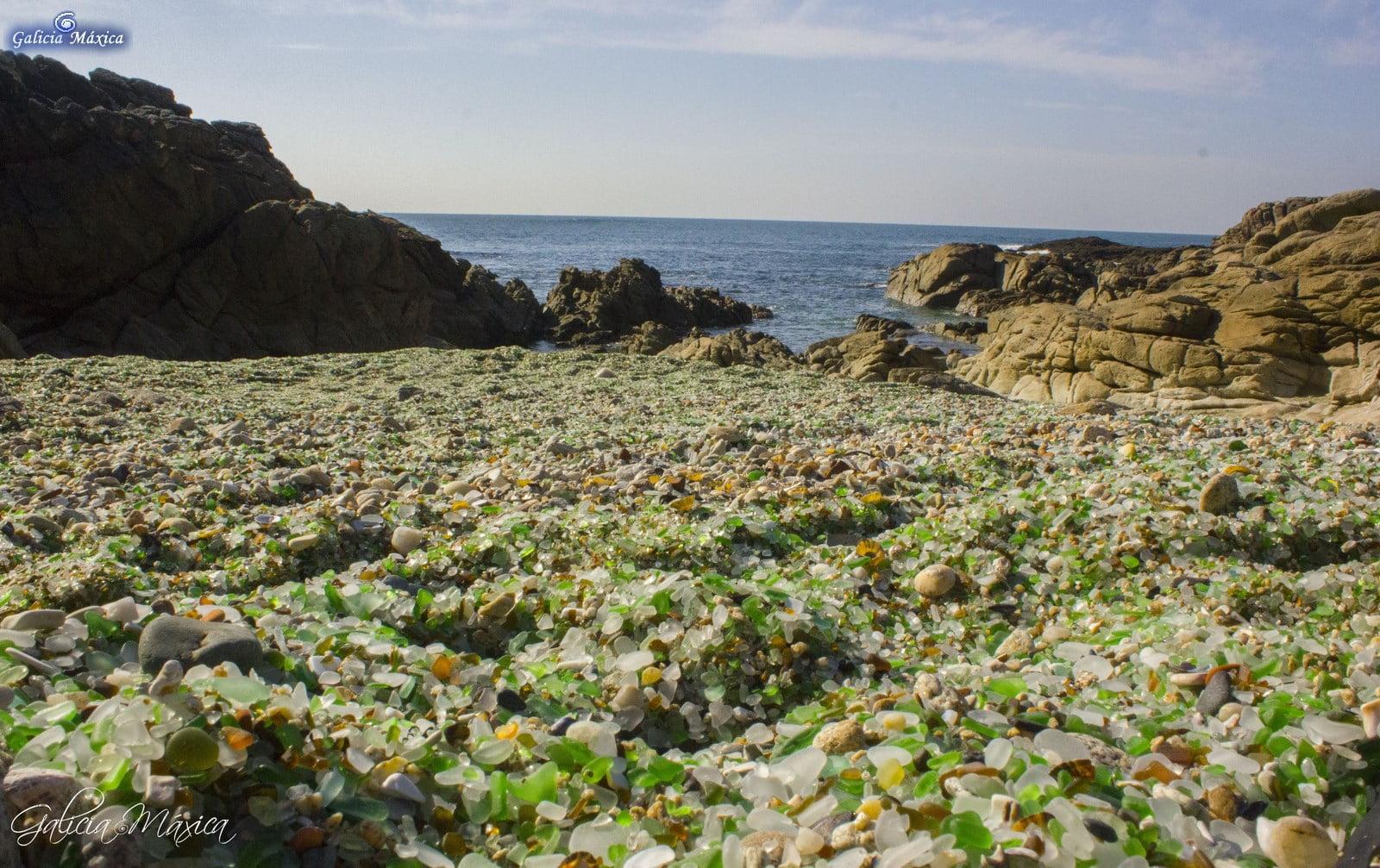 Playa de los Cristales - Laxe