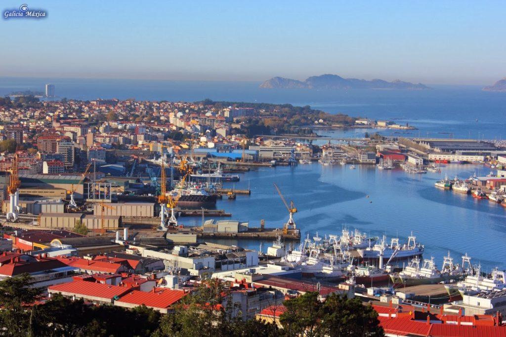 Vigo la ciudad más grande de Galicia