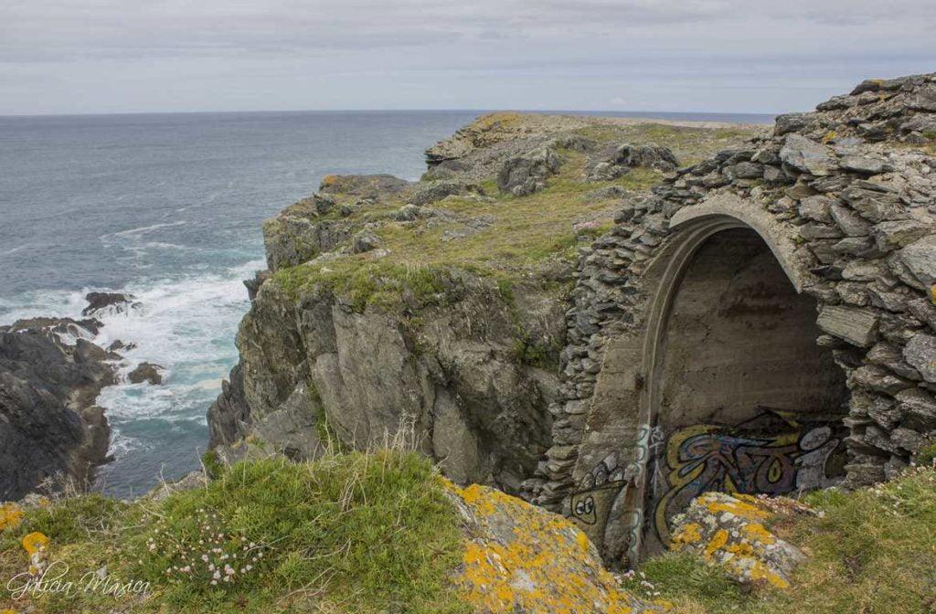 Ruinas militares de Frouxeira