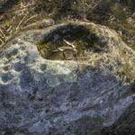 Roca con coviñas