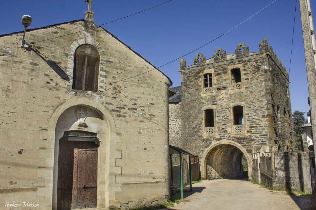 Capilla del castillo de Arnado