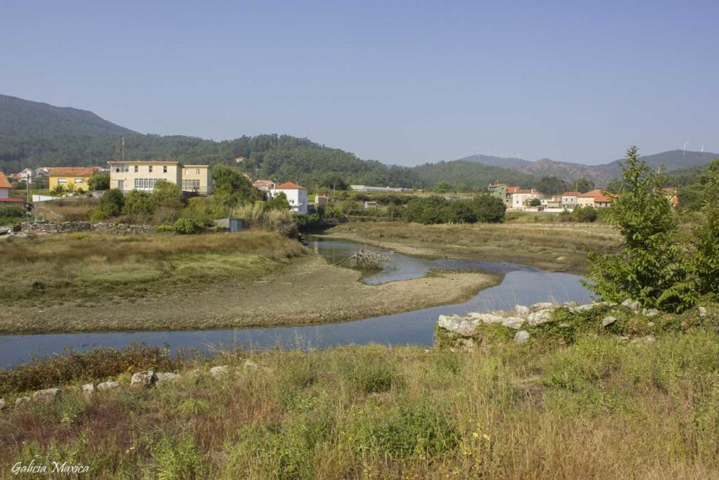 Desembocadura del río Rateira