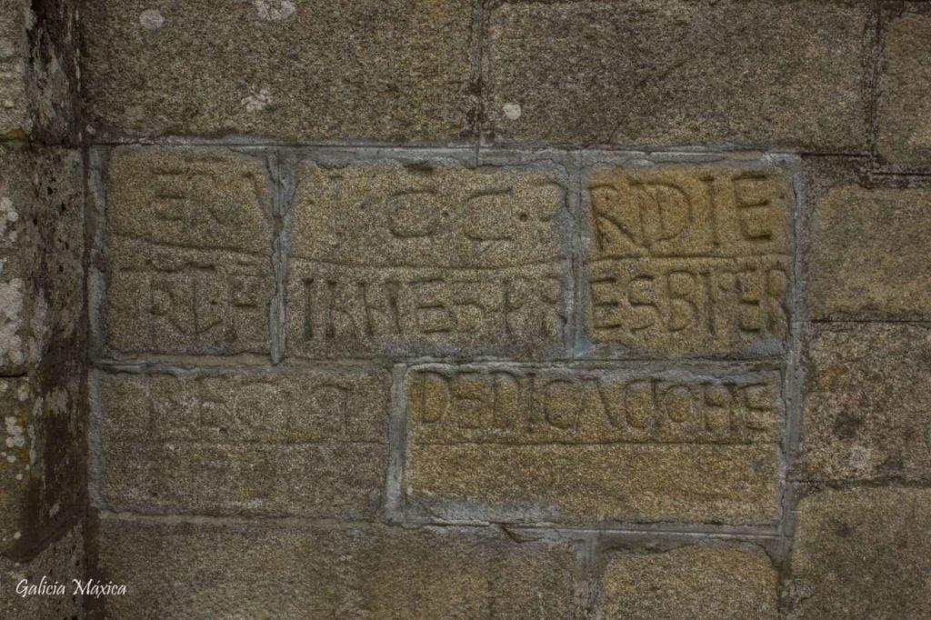 Inscripción de Amoeiro