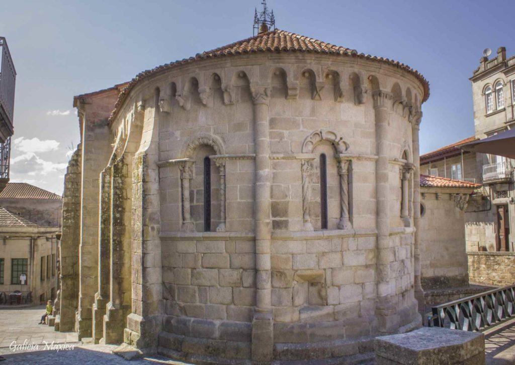 Ábside de la iglesia de Santiago de Allariz
