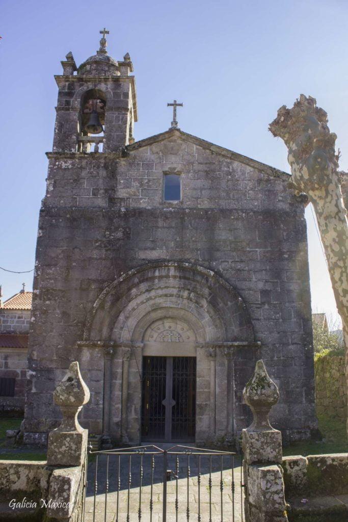 fachada de la iglesia de Donas en Gondomar