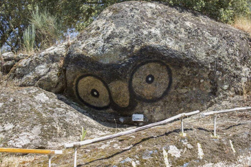 Roca pintada