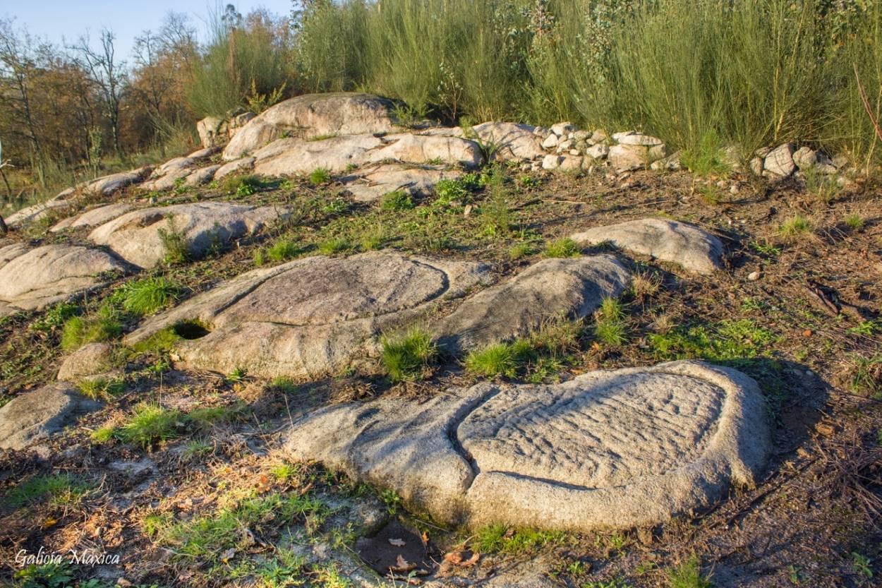 Lagares rupestres de Taboexa