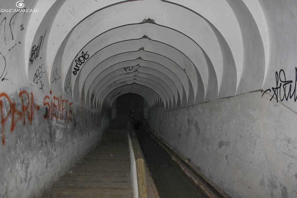 Interior de los túneles