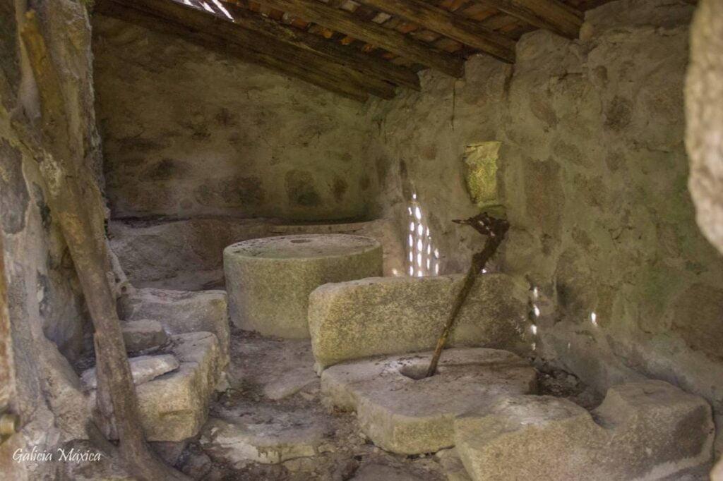 Interior de un molino