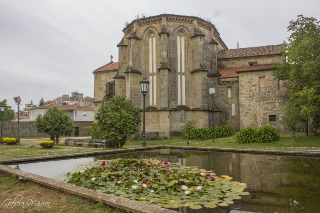 Ábside de la iglesia de Santo Domingo de Tui