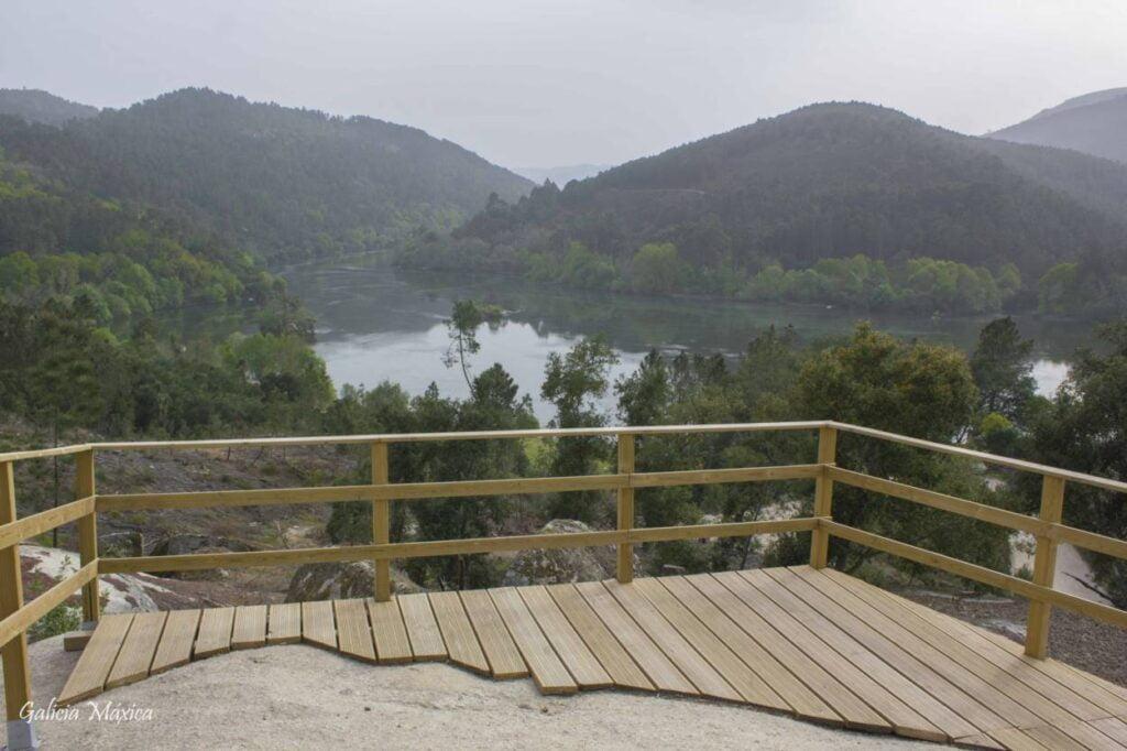 Mirador del Río Miño y Arnoia