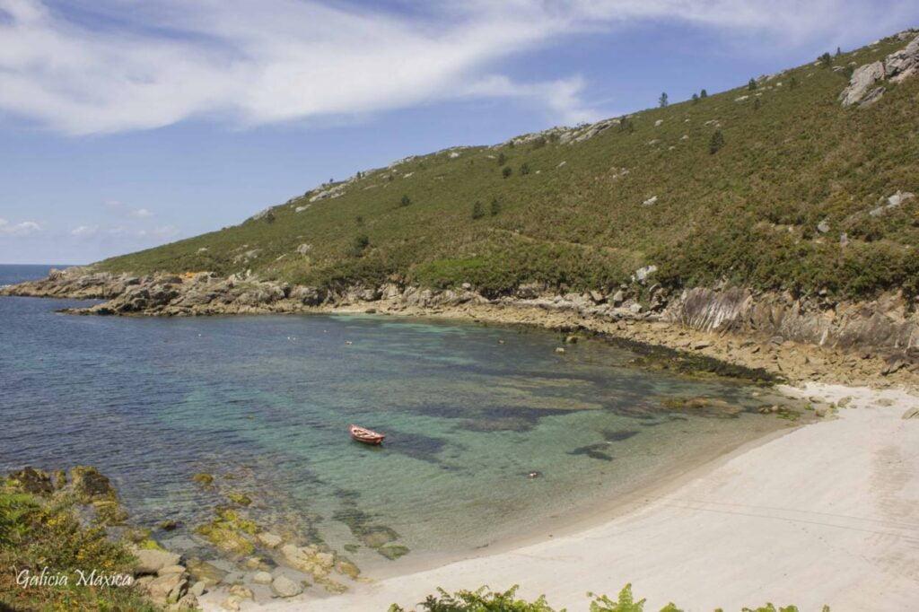 Praia da Barda en Ponteceso