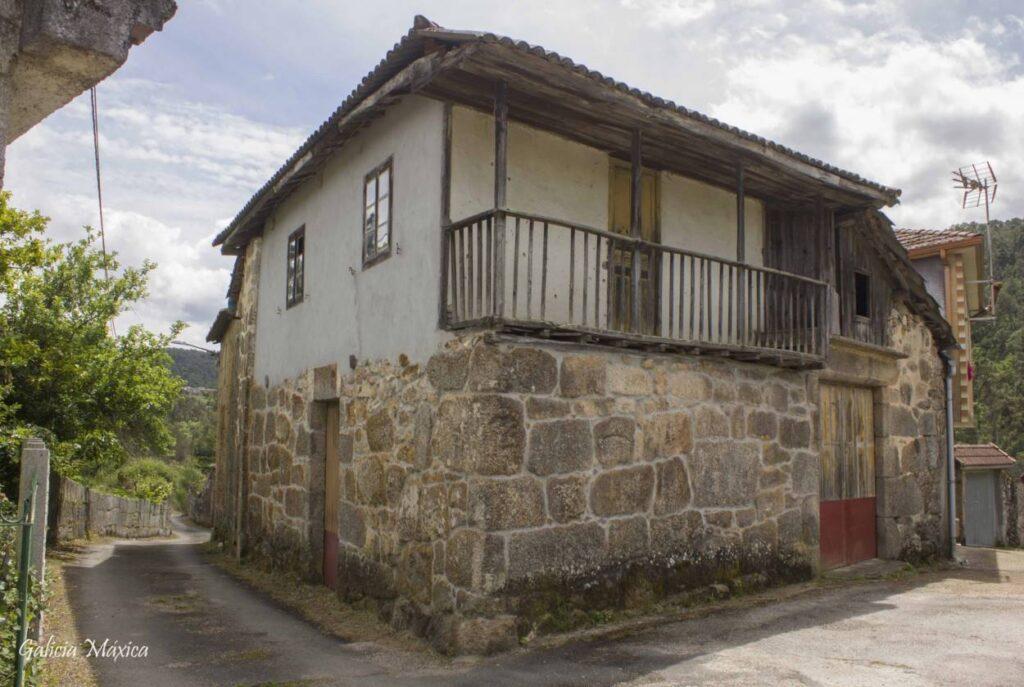Casa en A Cancela, Freás