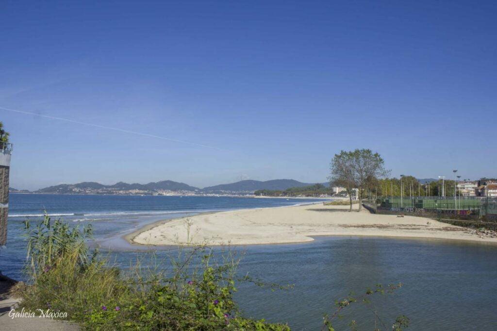 Desembocadura del río Lagares