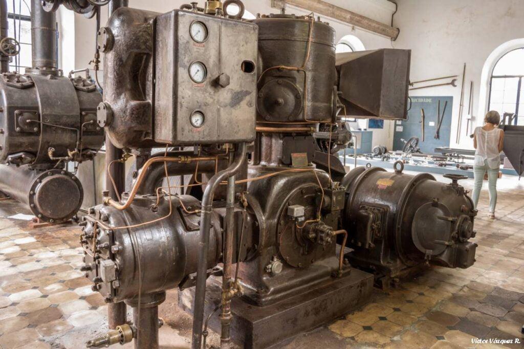 Maquinaria de Minas de San Fins