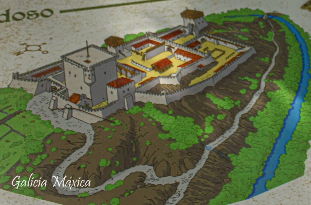 Dibujo del castillo
