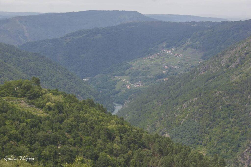 Río Sil en A Ribeira Sacra