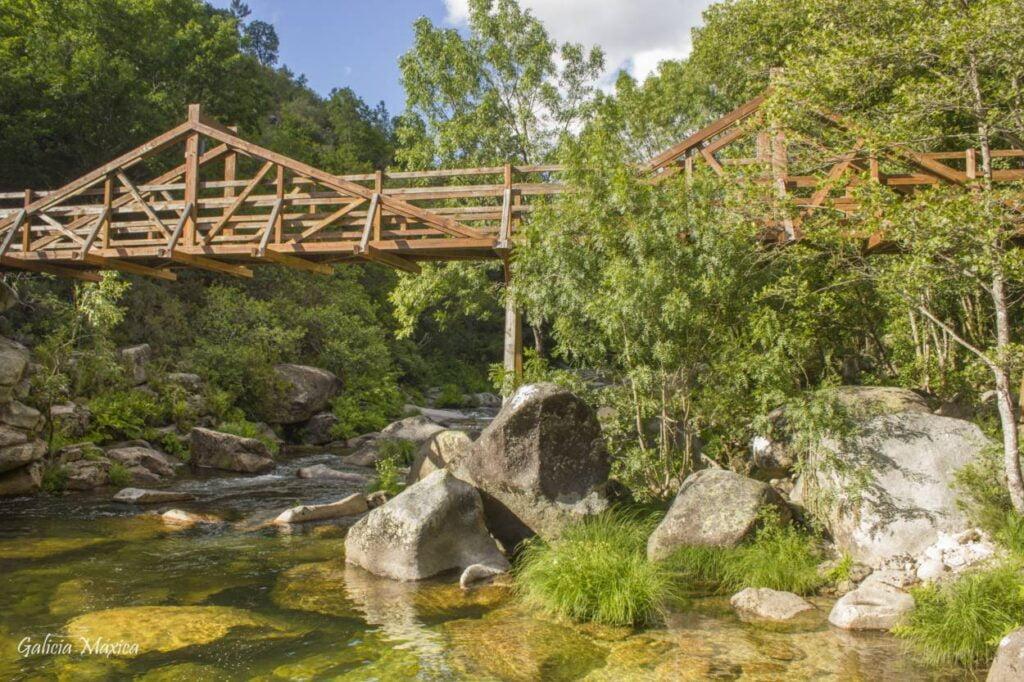 Puente internacional Pozas de Mallón